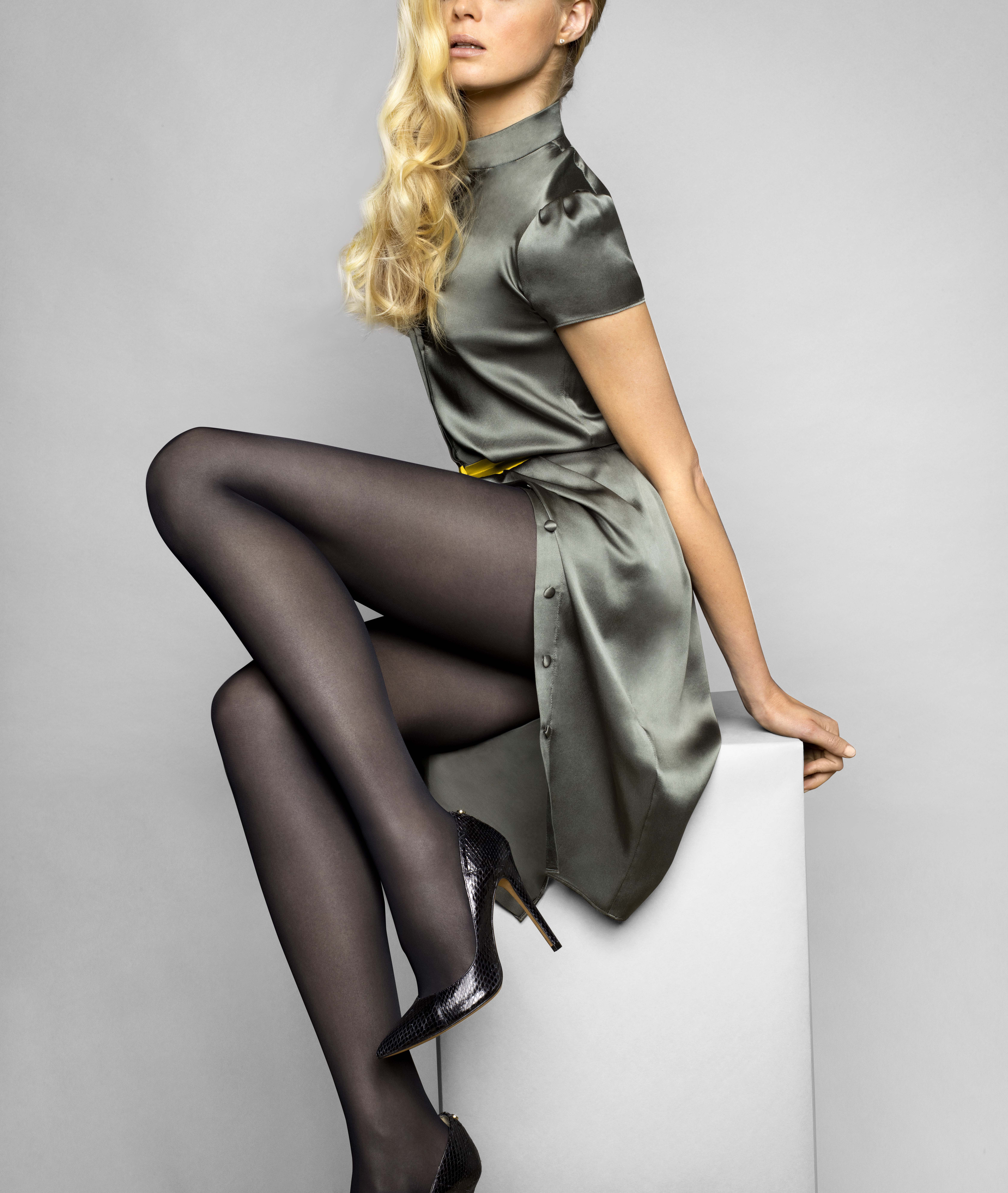 685b301cb7f Details about Le Bourget Heritage Collant Satine Luxe 40 Denier Sheer To  Waist Tights. Popular Item